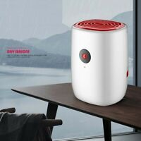 Portable 800ML Dehumidifier Mute Water Tank Air Dryer for Wardrobe Home Office