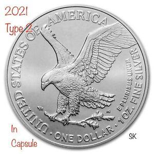 2021 American Eagle (Type 2) 1oz Silver Coin
