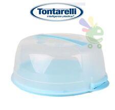 PORTA TORTA COPRI TORTA VETRINETTA PER DOLCI IN PLASTICA TONTARELLI 36x32XH15CM