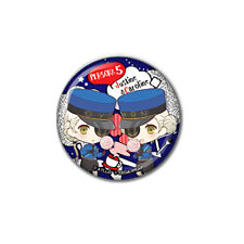 Persona 5 Prison Twin Collab Cafe Exclusive Character Can Badge Pin Type B