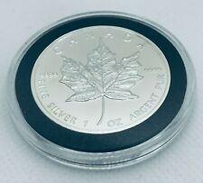 1996 Canada Silver Maple Leaf Key Date in Capsule