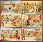 Figurine Liebig - Italia - Sang. 780 - Scene della Vita al Giappone - 1904