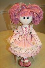 Rag Doll Toy Doll Sewing Pattern