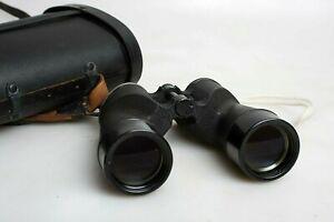 Bausch & Lomb 7X50 WWII Era Binoculars with Case