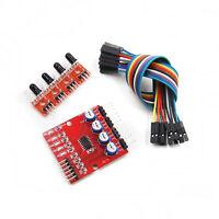 4 Channel Infrared Tracking Sensor Module IR Line Patrol for Arduino Smart Car