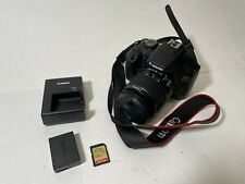 Canon EOS Rebel T7 24.1 MP Digital SLR Camera - Black (18-55 Lens) & Accessories