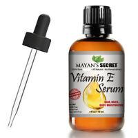Vitamin E Oil Serum 100% Pure Virgin All Natural Face Skin Treatment