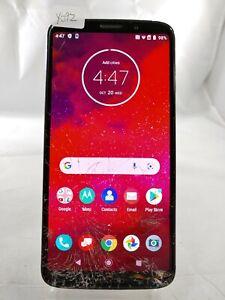 Motorola Moto Z3 XT1929-17 64GB Verizon GSM Unlocked Smartphone Black Y092