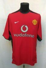 Manchester United 2002/2004 #7 Beckham Home Football Jersey Nike Shirt Size M