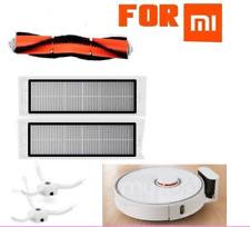 Main Brush+2HEPA Filter+2Side Brushes For XIAOMI MI Robot Vacuum Cleaner US
