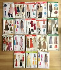 18 New Look Sewing Patterns - Job Lot - Modern & Vintage See Photo's