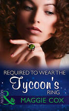 """""""VERY GOOD"""" Cox, Maggie, Required To Wear The Tycoon's Ring (Modern), Book"""