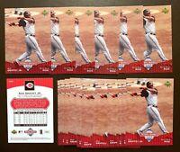 50) KEN GRIFFEY Jr. Cincinnati Reds 2006 UD National Baseball Card Day #UD7 LOT