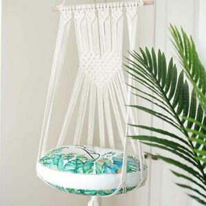 Swing Bed Wall Hanging Macrame Pet Supplies Cat Hammock Home Decor Without Mat