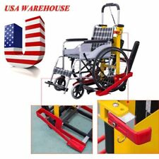 USA Warehouse Motorized Wheelchair Lift Electric Stair Lifting Climbing Elevator