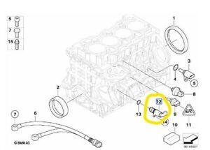 New Genuine BMW N43 S55 Engine Oil Pressure Control Solenoid 11417584990