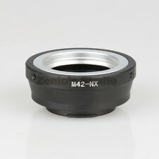 M42-NX Mount Adapter Ring for M42 Lens to Samsung NX5 NX30 NX210 NX1100 NEX 3000