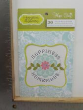 JOSEPHINE KIMBERLING HOPE CHEST 36 VELLUM QUOTE STICKERS PAD NEW A12155