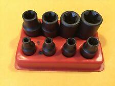 Mac Tools Usa8 Piece Inverted Torx Socket Sete4 E16 14 Amp 38drnicefre Ship