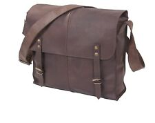 Brown Leather Medic Messenger Bag 81480 Rothco