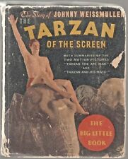TARZAN OF THE SCREEN  #778 1934 WHITMAN  240p. PHOTO-c [BLB] MOVIE SCENES... GD+