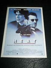 HEAT, film card [Al Pacino, Robert De Niro, Val Kilmer]