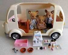 EPOCH CALICO CRITTERS ICE CREAM TRUCK w/BUCKLEY DEER ~RETIRED ~NEARLY COMPLETE