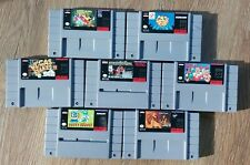 7 NTSC Super Nintendo Spiele Sammlung ab 1?