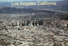 Aerial View Downtown Los Angeles California US Bank Tower Skyscrapers - Postcard