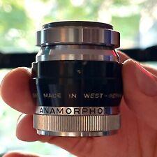 Isco Gottingen 8/1.5x Anamorphot Anamorphic Lens And Rapido T1 Clamp