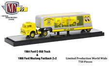 M2 Machines Auto Haulers Mooneyes Chase 1964 Ford C-950 Truck Mustang (N18)