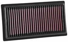 K&N Hi-Flow Performance Air Filter FOR Subaru BRZ 2.0L 2017, Manual Transmis...