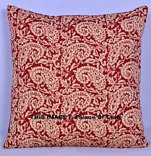Cushion Cover Ethnic Indian Hippie Gypsy Pillow Cover Case Sham Kantha Look 2 Pc