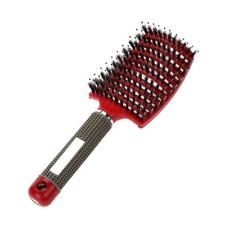 Scalp Massage Brush Hair Comb Head Massager Bristle Hairdressing Women Detangle