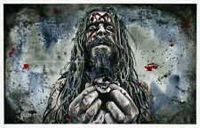 Rob Zombie - White Zombie - Fine Art Print / Poster / Watercolor Painting