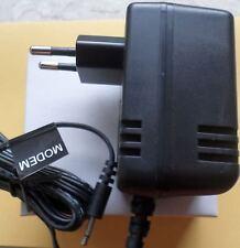 Bloc d'alimentation 7.5 V 500 mA Out 3.75va prise jack 2,5 mm AC Adapter 0,5 A connecteur neuf dans sa boîte