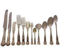 Buttercup by Gorham Sterling Silver Flatware Set For 12 Dinner 286 Pcs with Box