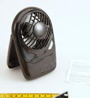 Kleiner Stand Ventilator schwarz, Batterie betrieben.,Neu