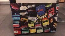 Large Next Car Theme Canvas Picture Toy Cars Art Work Frame