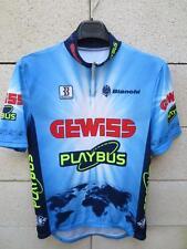 Maillot cycliste GEWISS PLAYBUS Biemme maglia shirt jersey Bianchi L