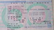 Stone Roses '95 Japan tour concert ticket stub