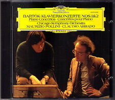 POLLINI & ABBADO: BARTOK Piano Concerto 1, 2 Maurizio Claudio Klavierkonzerte CD