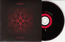 DAVIDGE Slo Light UK 13-trk promo CD Sandie Shaw Karima Francis Cate Le Bon