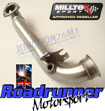 Milltek Mini R56 Cooper S MK2 Decat Downpipe Exhaust Stainless - Deletes OE Cat
