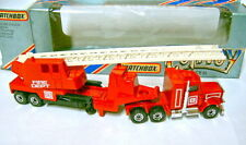 MATCHBOX Convoy serie cy13 Kenworth Fire Engine 3 CAMION