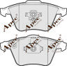 PAD1663 GENUINE APEC FRONT BRAKE PADS FOR VAUXHALL VECTRA