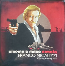 Franco Micalizzi & The Big gorgogliamento Band CINEMA A MANO ARMATA OST LP EUROCRIME