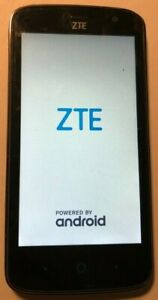 ZTE Z899VL Tracfone Black Cell Phone 16GB Very Good Used Parts Repair Lock