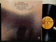 CHET BAKER She Was Too Good To Me LP CTI 6050 S1 STEREO RVG 1974 Jazz