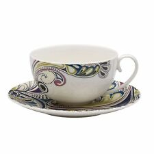 Denby Monsoon Cosmic Tea Cup and Saucer Set